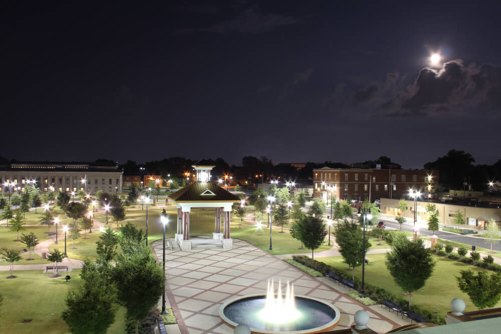 Government Plaza in Tuscaloosa