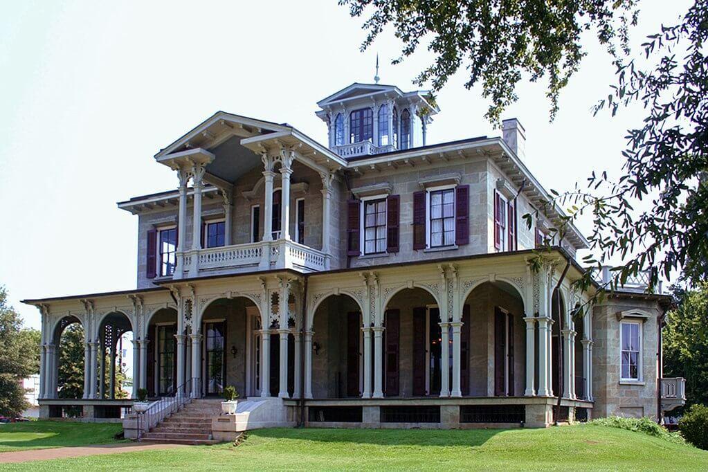 Jemison-Van de Graaff Mansion, Tuscaloosa, Alabama