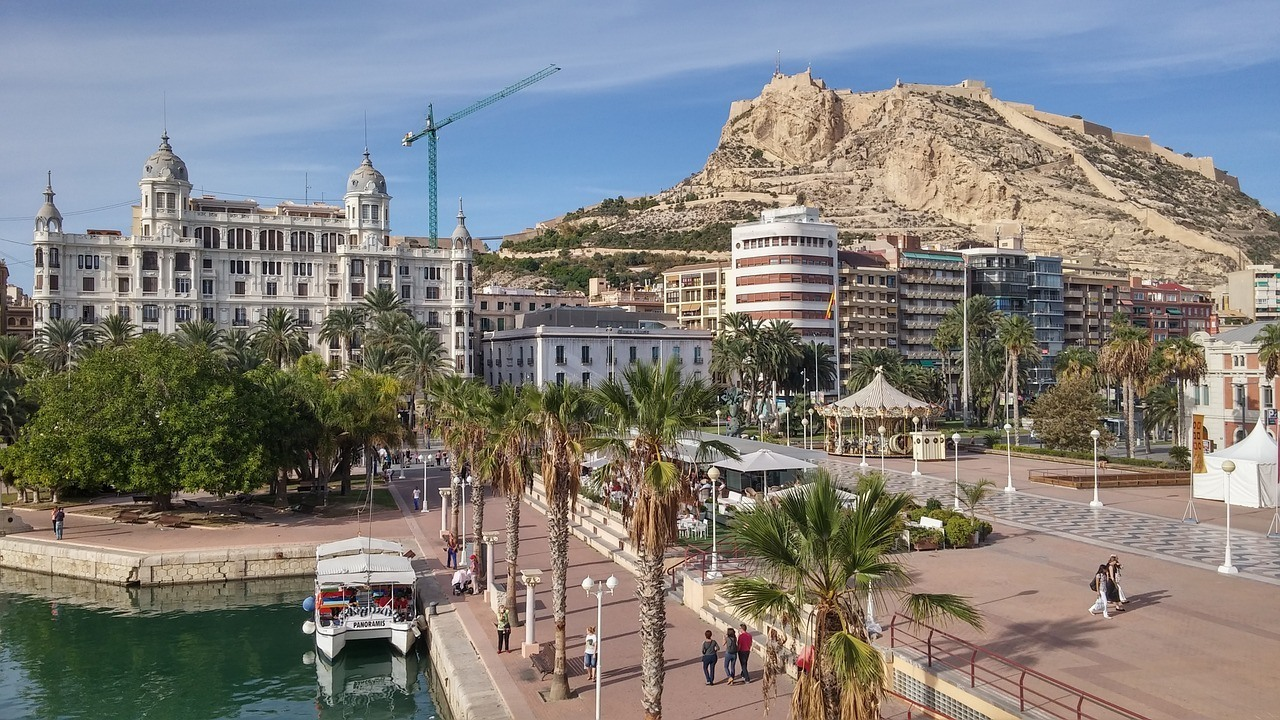alicante - old town