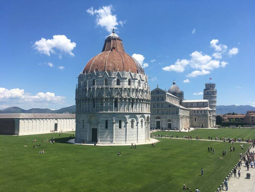 biggest baptistery