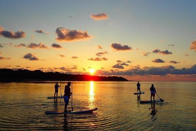 canoe and Okinawa Sunrise