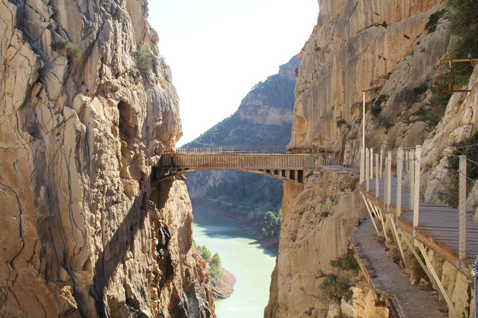 Take a walk along the very stunning Caminito del Rey