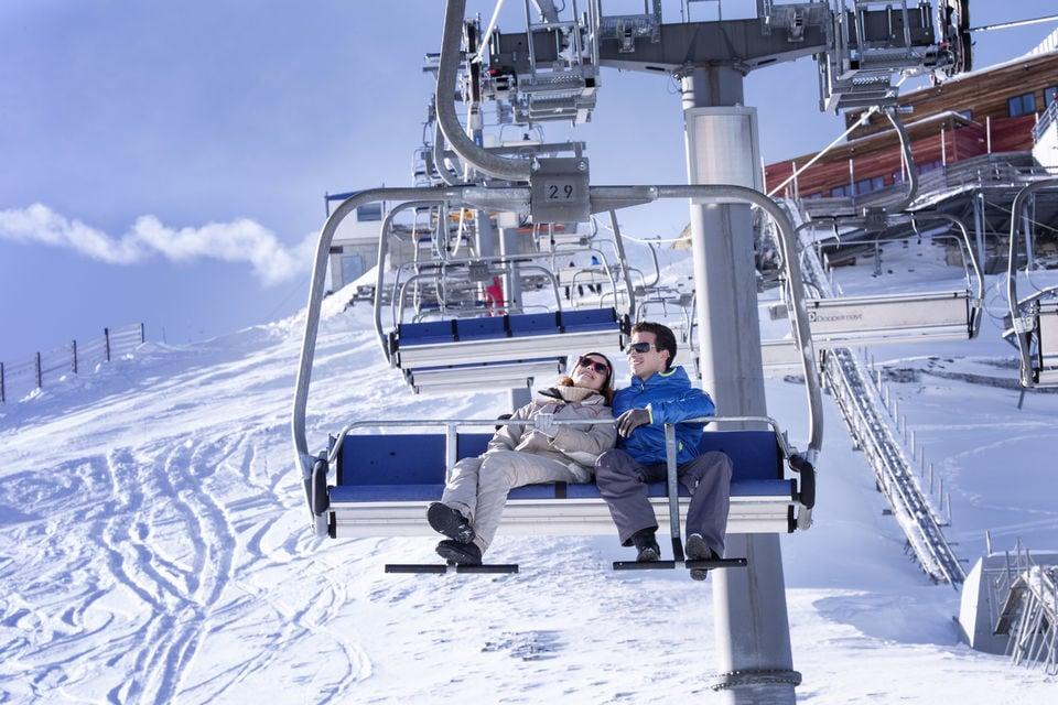 7. Ride a roller coaster on a glacier