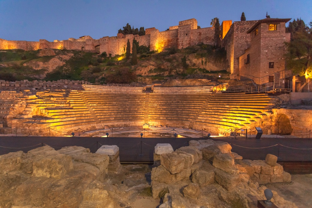 roman ancient theater