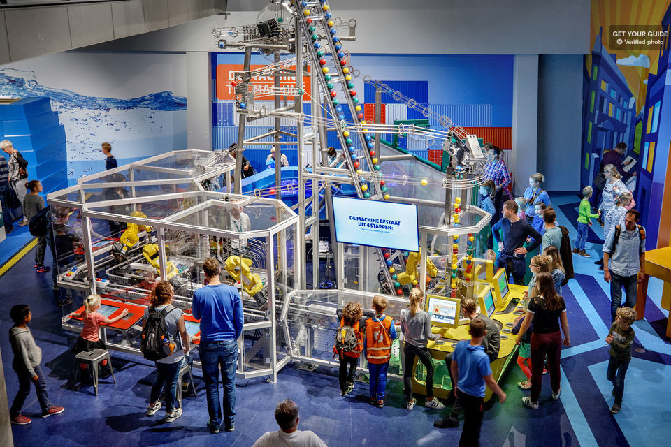 Spend an afternoon at the Nemo Science Museum