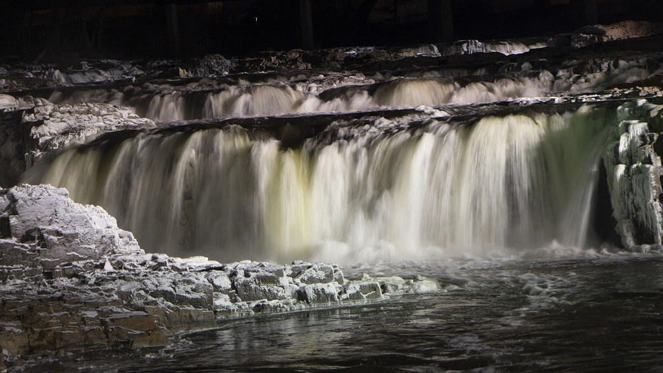 Admire the Famous Falls of Sioux
