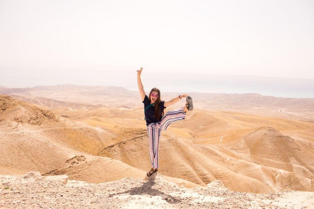 High kicks in the desert for Abraham Tours