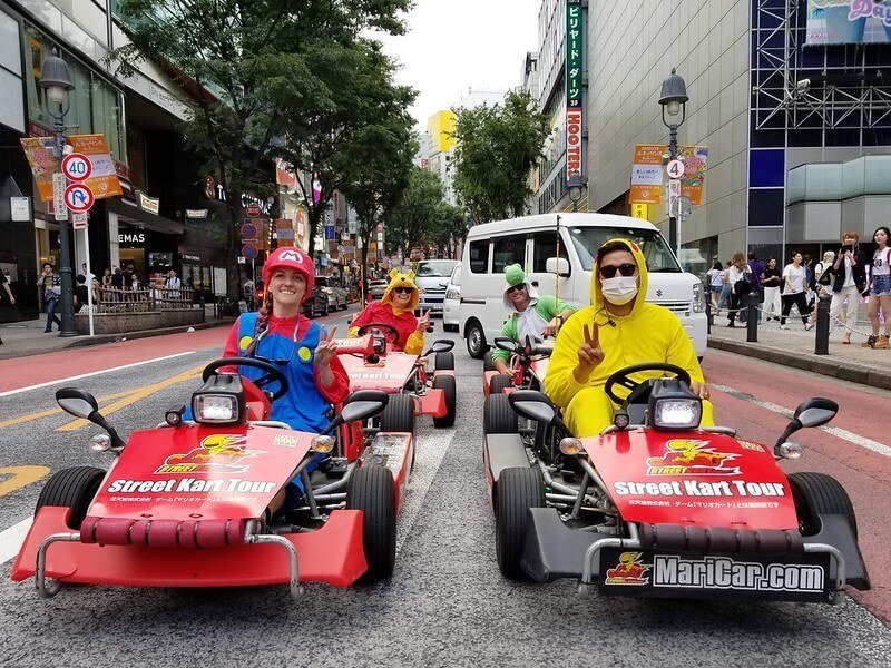 Things to do in Tokyo - go-karting