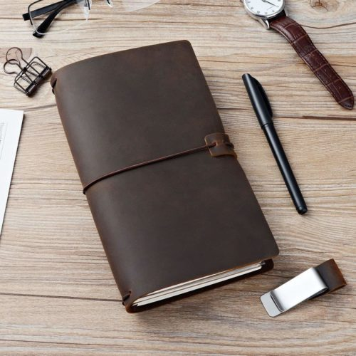Refillable Leather Journal Traveller's Notebook
