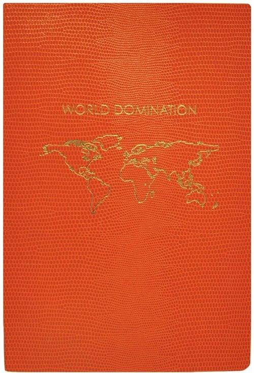 "Sloane Stationery ""World Dom"" Soft Cover Notebook"