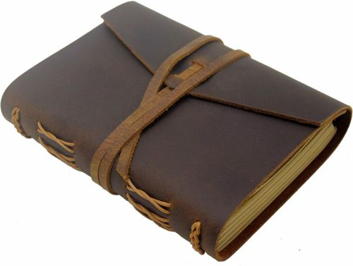Leather Journal by FOFUN