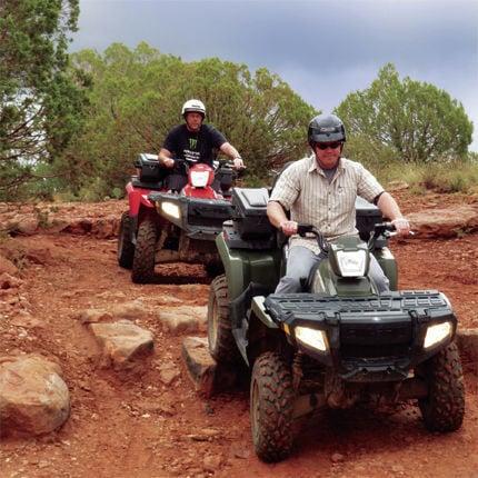 Explore on an ATV sedona