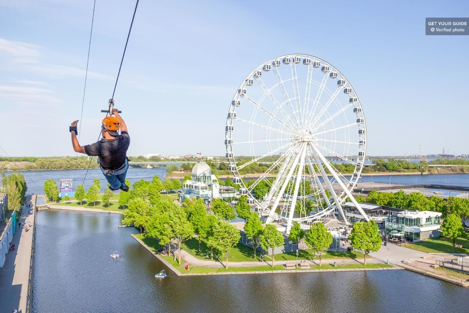 Fly Over the Old Port on a Zipline