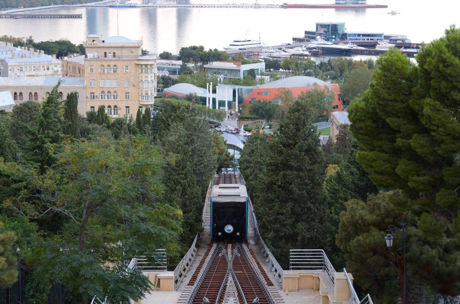Is public transportation in Azerbaijan safe