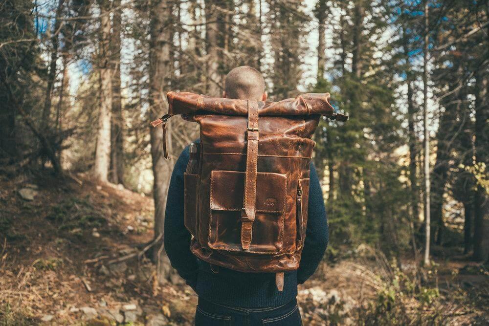 Kodiak Leather Backpack