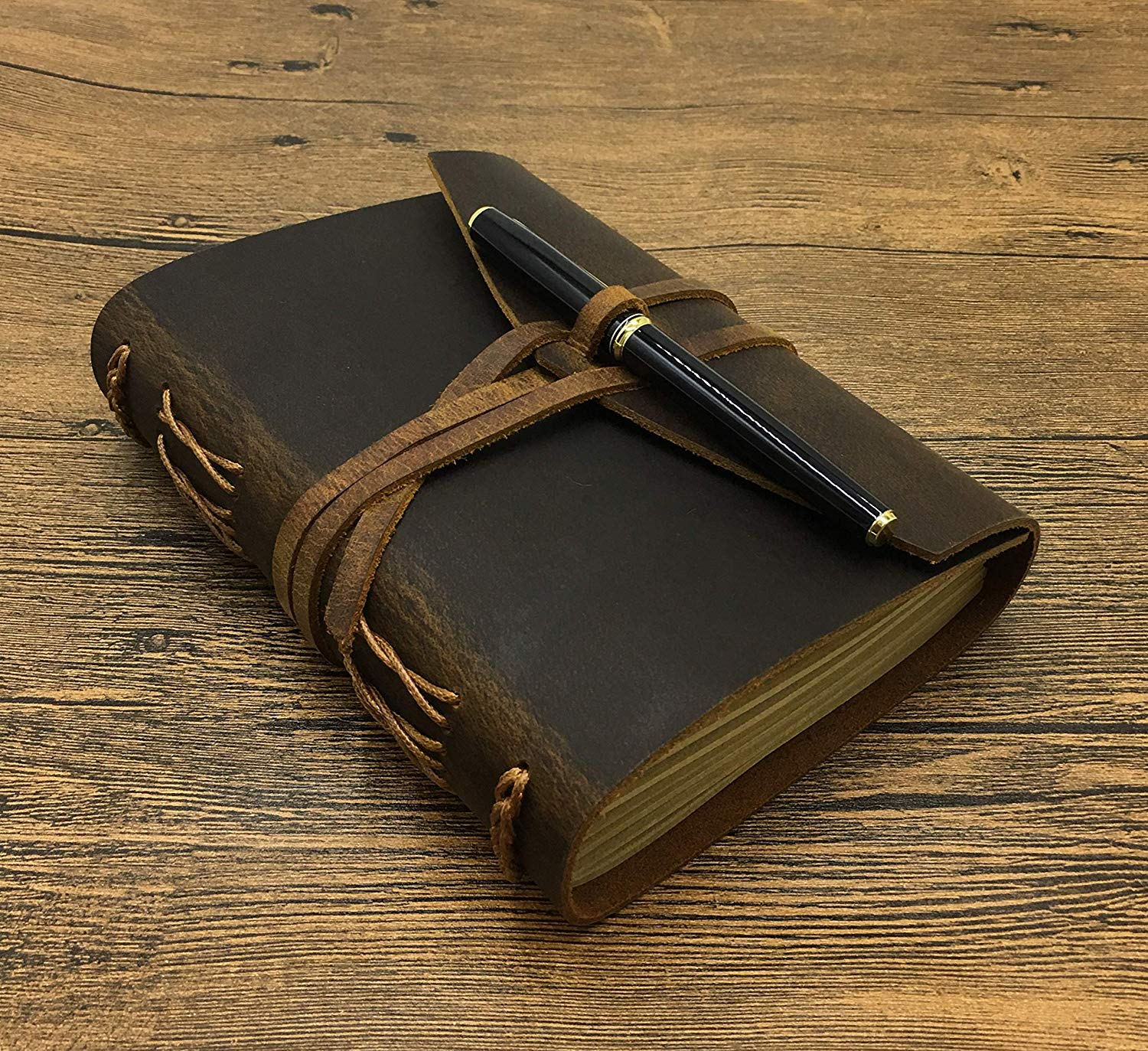 Leathe journal - necessary thing to pack for any trip