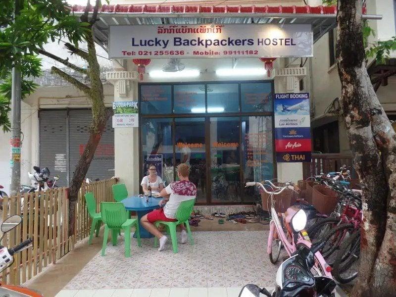 Lucky Backpackers Hostel best hostels in Vientiane