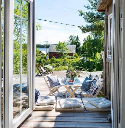 Luxury summer house style cabin