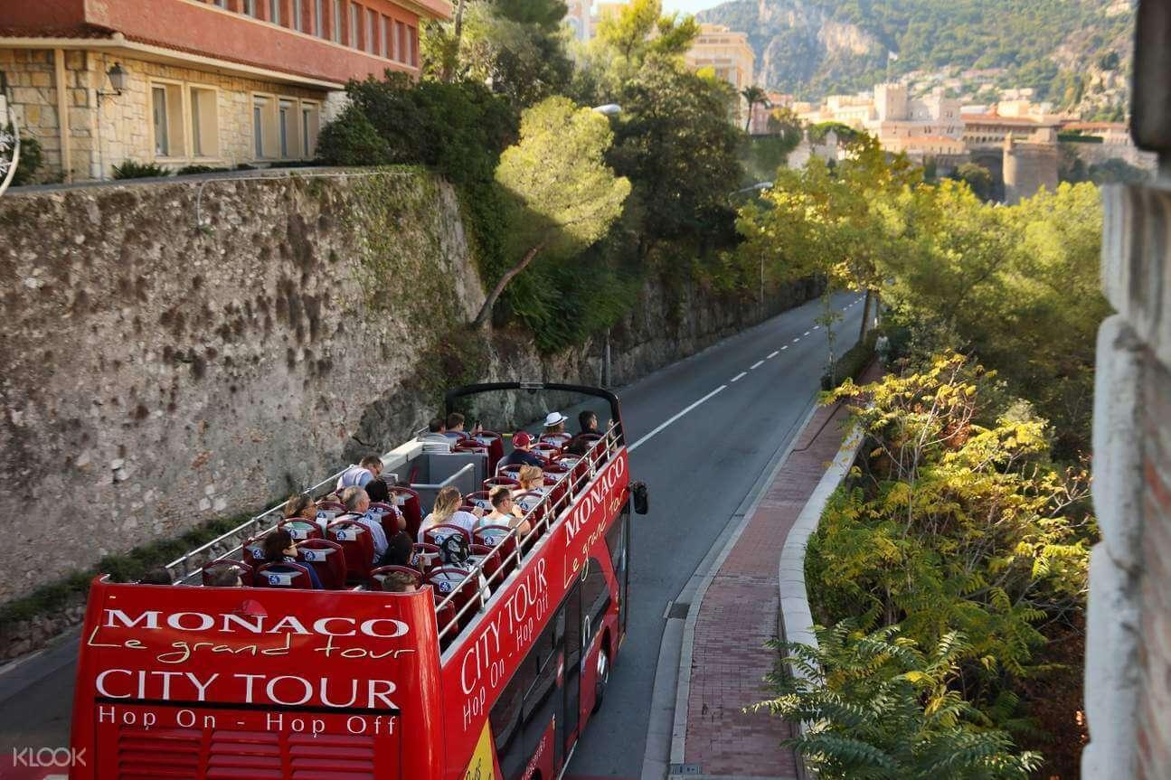 Bus tour in Monaco