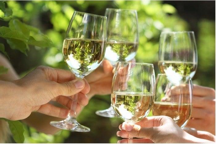Sample SedonaGrown Wine