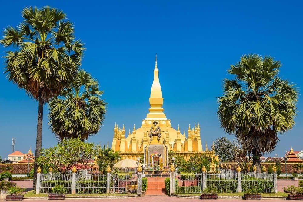 Sapahnthong Gang Village Vientiane