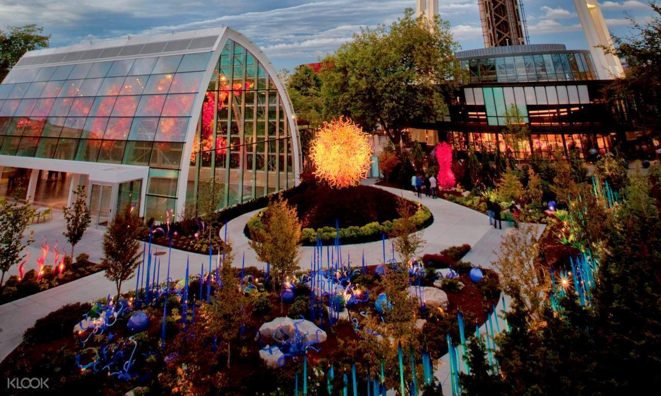 Chihuly Glass and Garden, Seattle