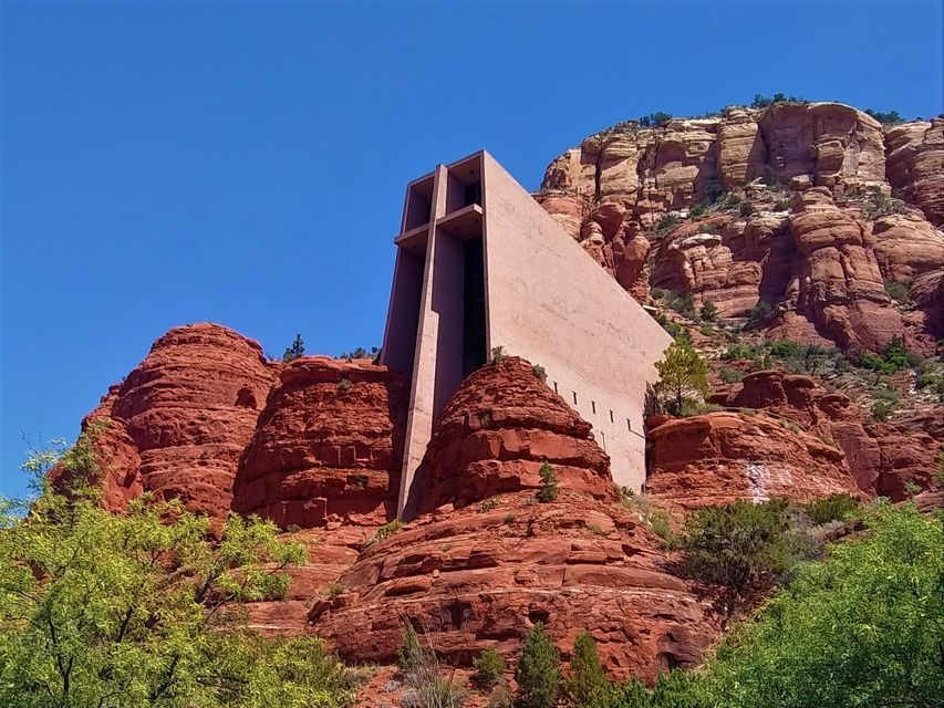 See the Chapel of the Holy Cross