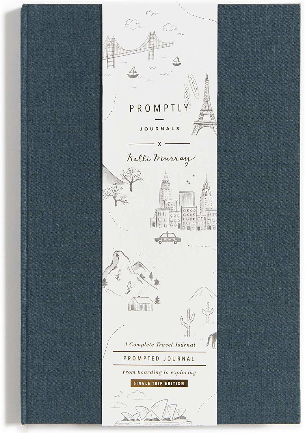 Travel Journal by Promptly Journals