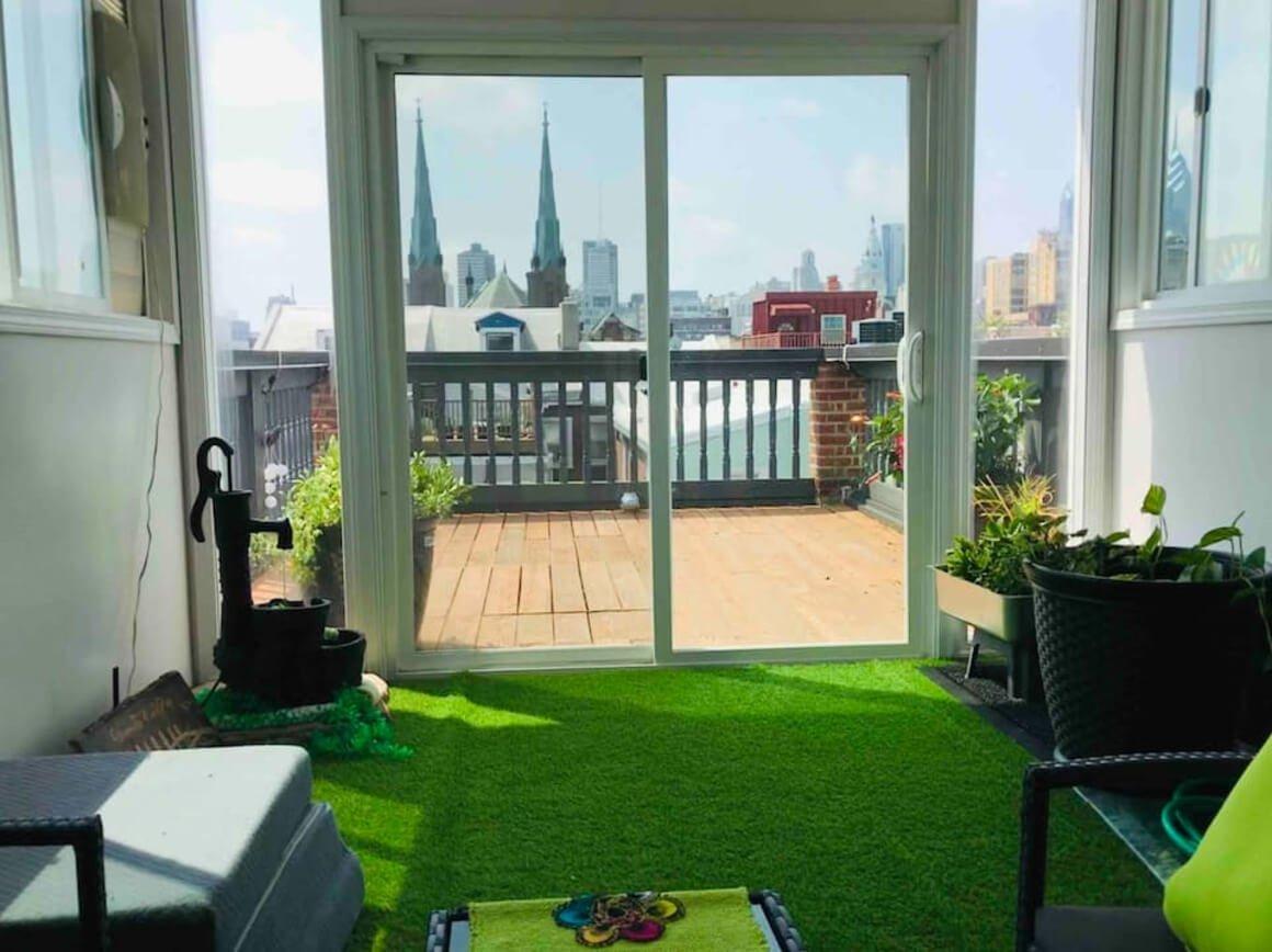 Unique penthouse apartment