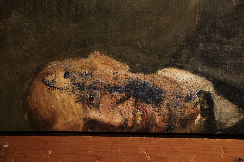 creepy art in the museum quartier vienna