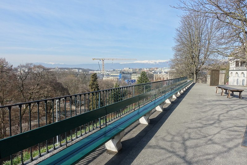 Sit on one of the longest benches in the world