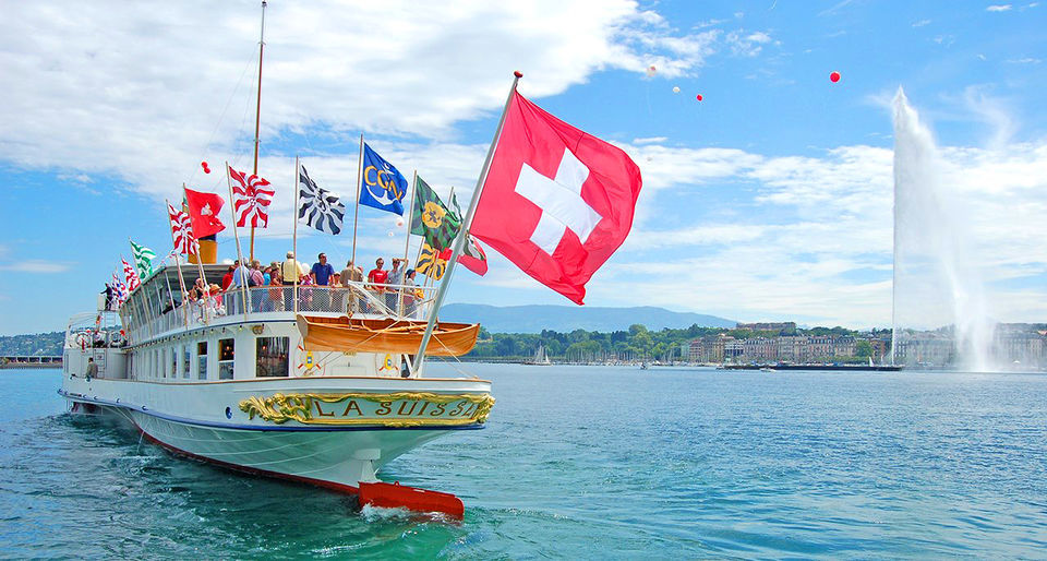 Take the boat to Lausanne