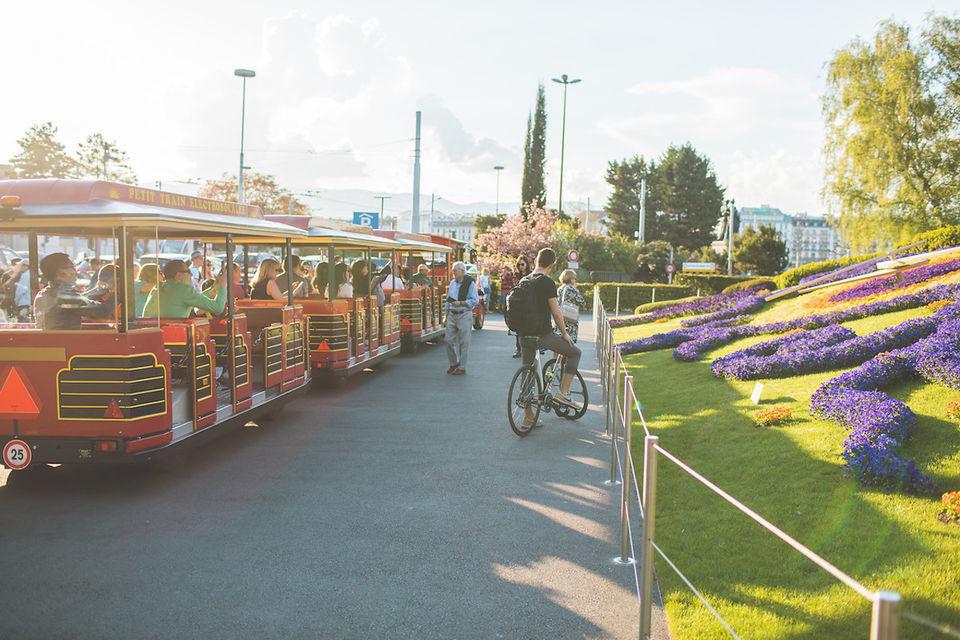 Take a train along the shores of Lake Geneva
