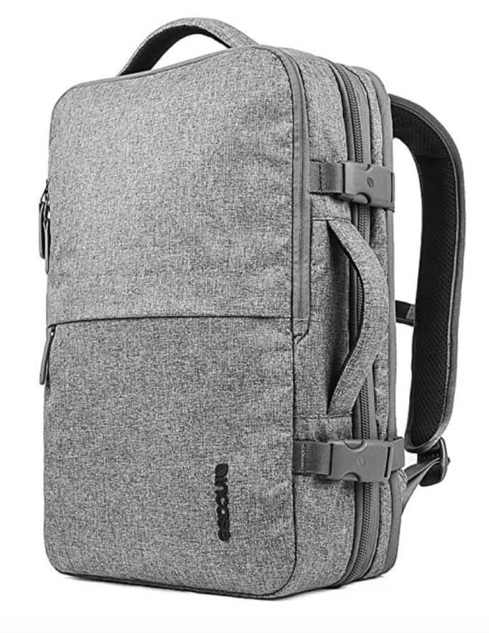 incase carry on backpack grey