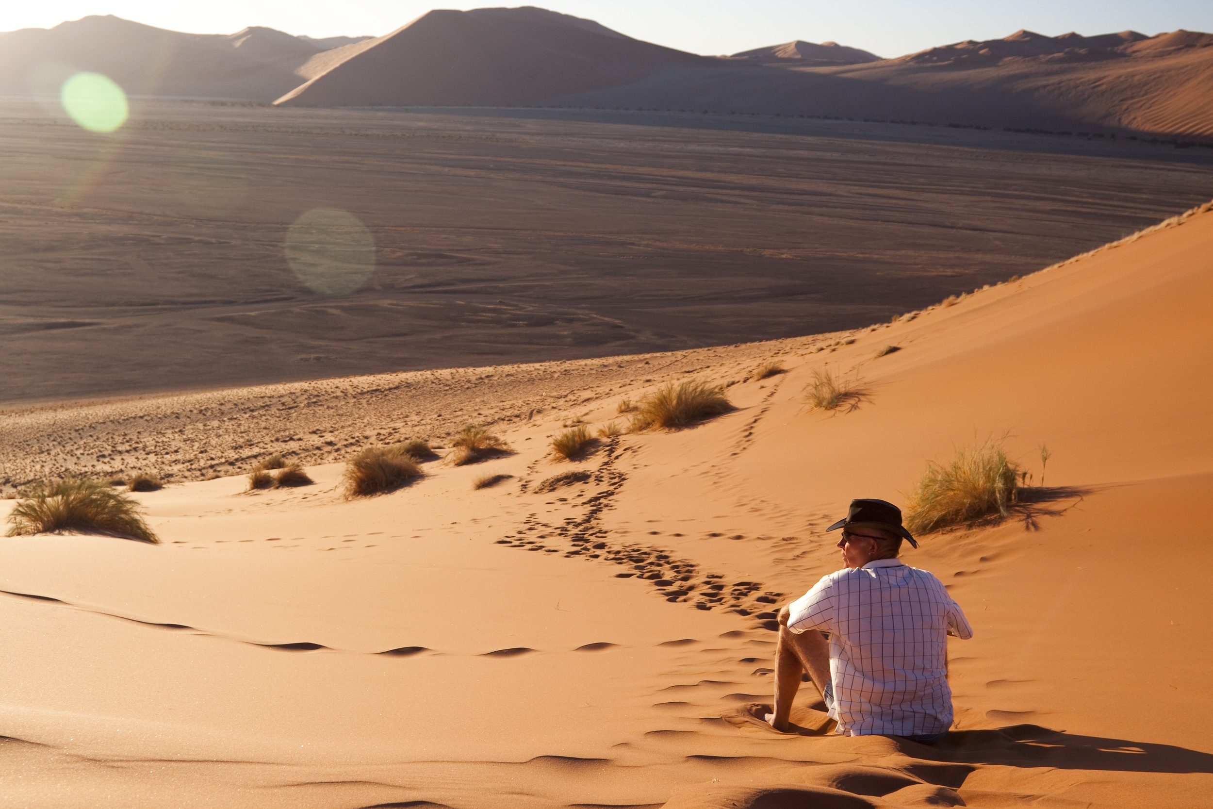 Is Namibia safe to travel alone?