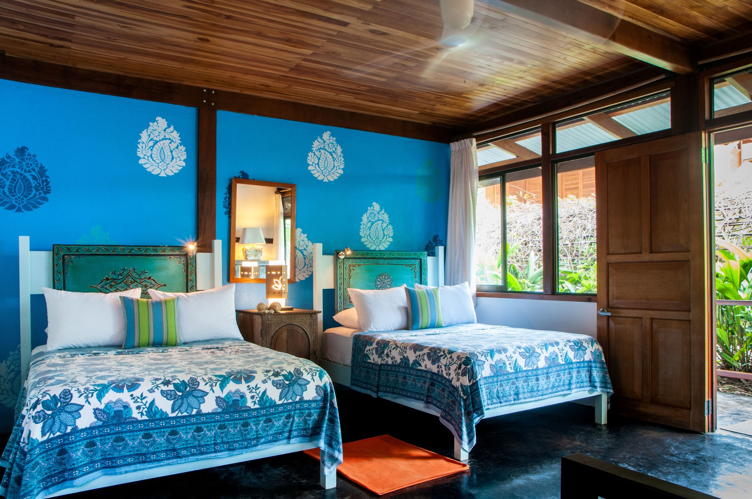 Blue Osa Bedroom
