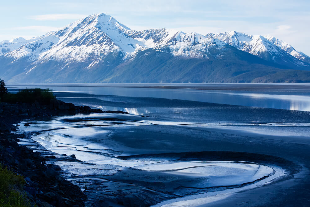 alaskan road trip seward highway and ice road