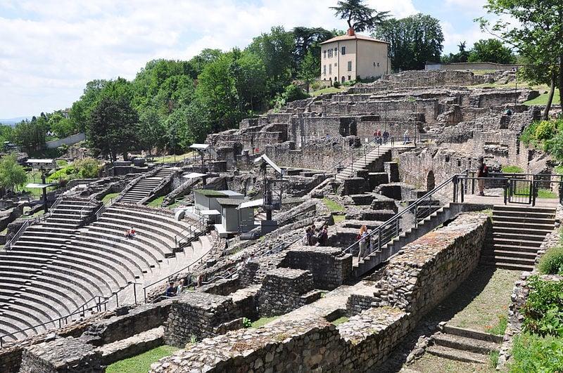 Visit one (or both) of Lyon's two Roman amphitheatres