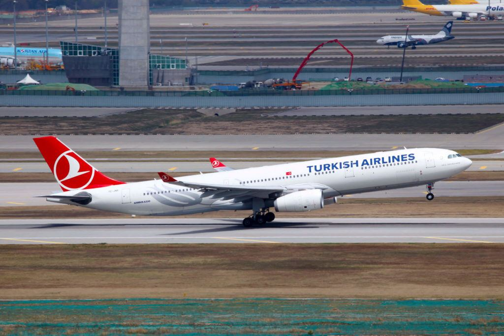 turkish airlines leaving istanbul