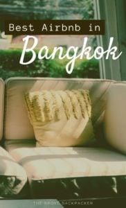 Airbnb in Bangkok PIN