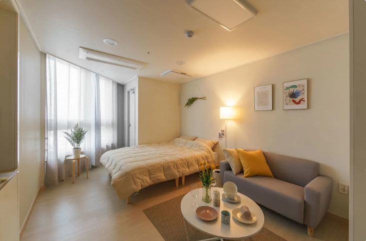 Apartment with ocean view busan