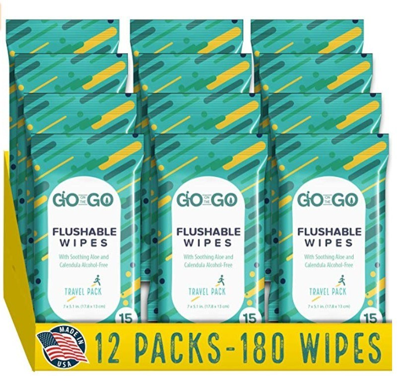 Flushable Wet Wipes