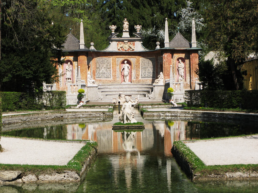Hellbrunn Palace and Trick Fountains