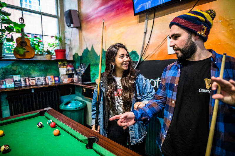 the best hostels in Edinburgh