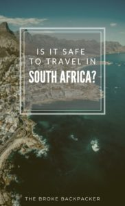 Is South Africa Safe