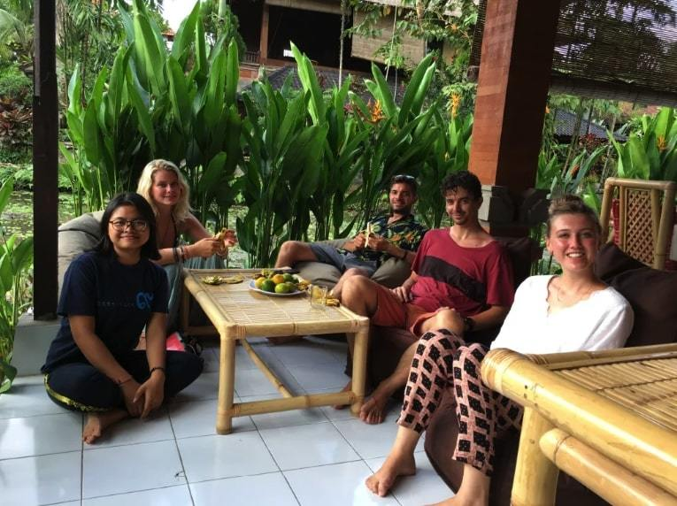 Keladi House Ubud best hostel in Ubud