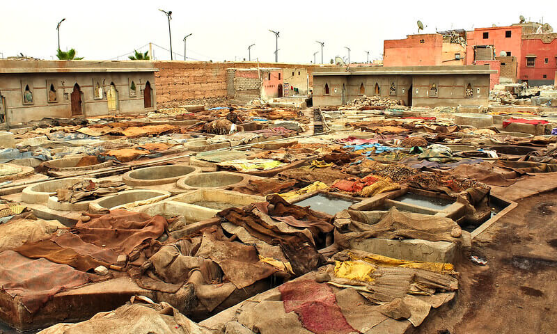 Marrakech Tanneries