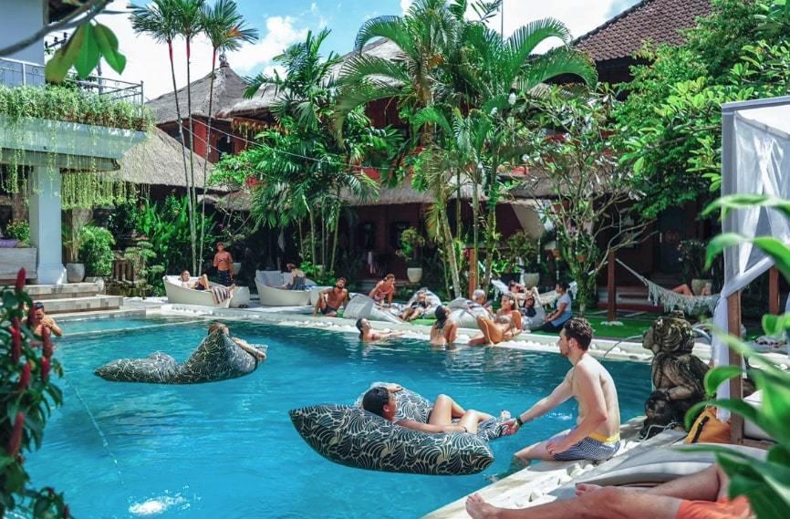 Puri Garden Hotel & Hostel best hostels in Ubud