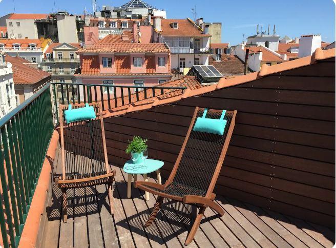 Sweet Balcony in the Bairro Alto