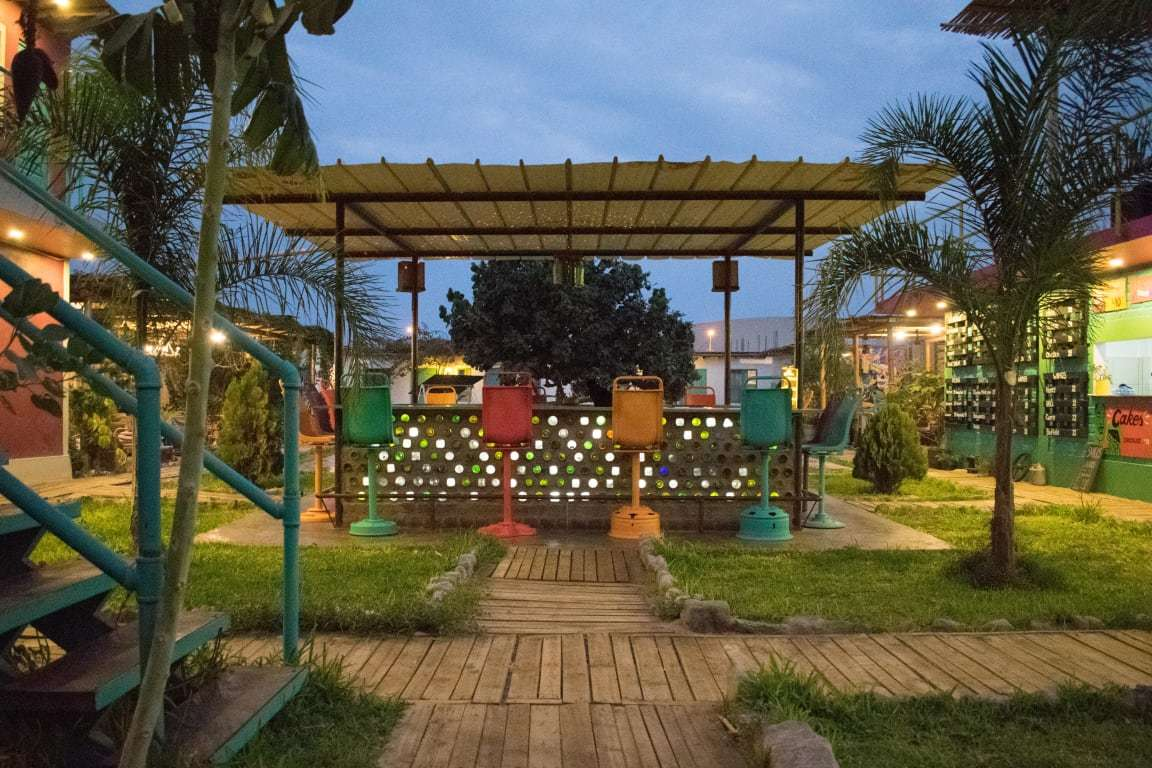 The Upcycled Hostel best hostels in Huacachina